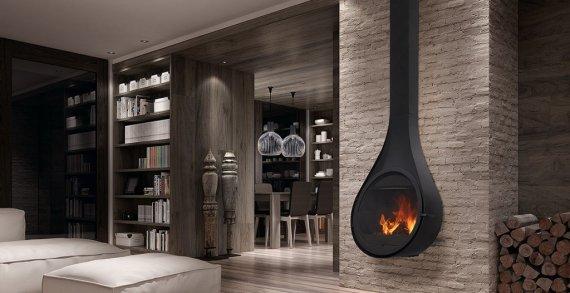 drop po le bois chemin e suspendue rocal rocal. Black Bedroom Furniture Sets. Home Design Ideas